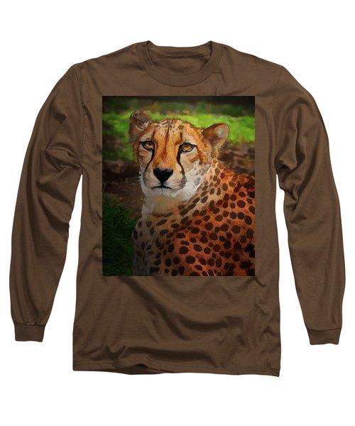Cheetah Mama Long Sleeve T-Shirt