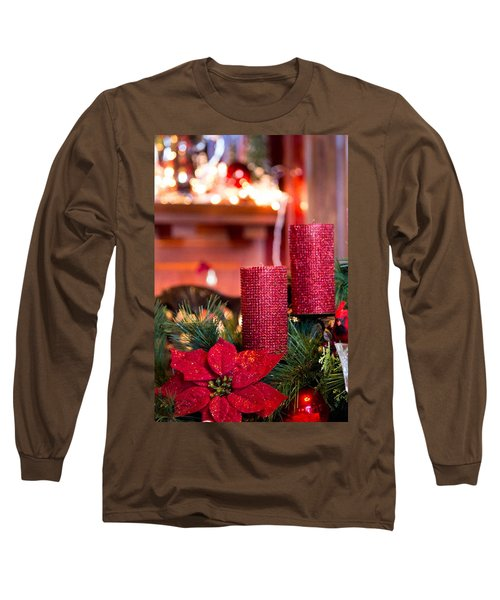 Christmas Candles Long Sleeve T-Shirt