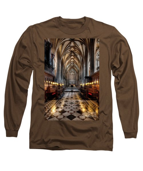 Church Interior Long Sleeve T-Shirt