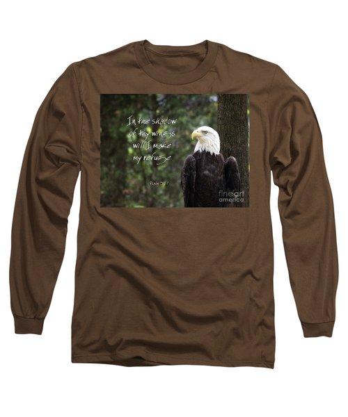 Eagle Scripture Long Sleeve T-Shirt
