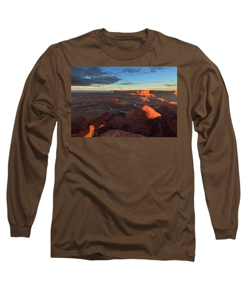 Early Morning At Dead Horse Point Long Sleeve T-Shirt