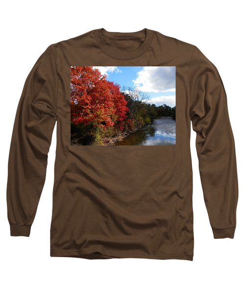 Fall At The Credit River Long Sleeve T-Shirt