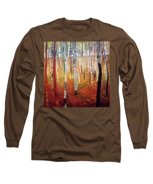 Forest Of Beech Trees Long Sleeve T-Shirt