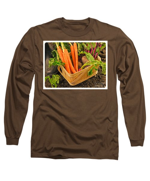 Fresh Garden Vegetables Long Sleeve T-Shirt