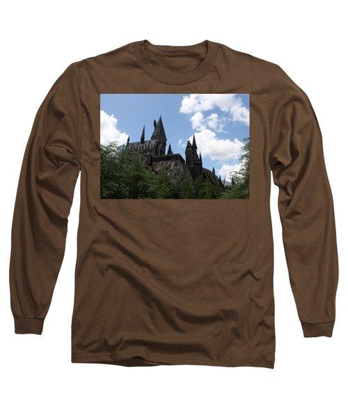 Hogwarts Castle Long Sleeve T-Shirt