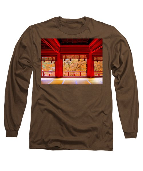 Japan Red Long Sleeve T-Shirt