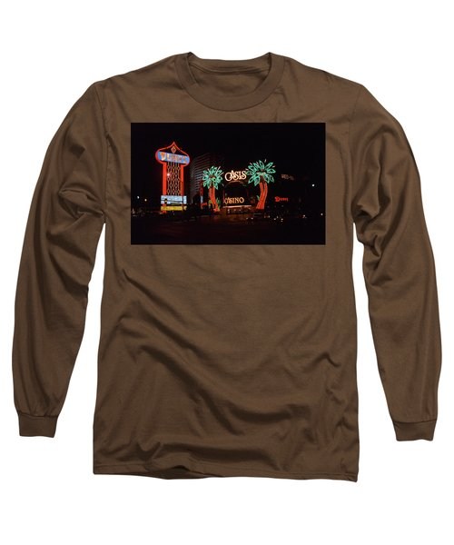 Las Vegas 1983 Long Sleeve T-Shirt by Frank Romeo