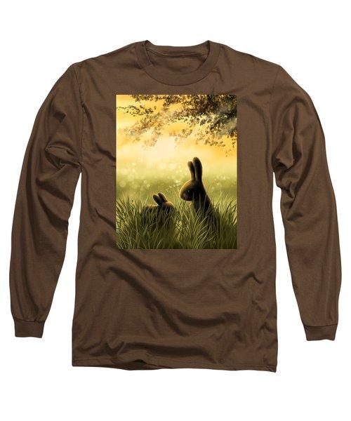 Love Long Sleeve T-Shirt by Veronica Minozzi