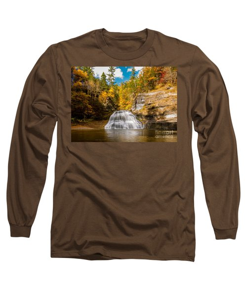 Lower Treman Falls Long Sleeve T-Shirt
