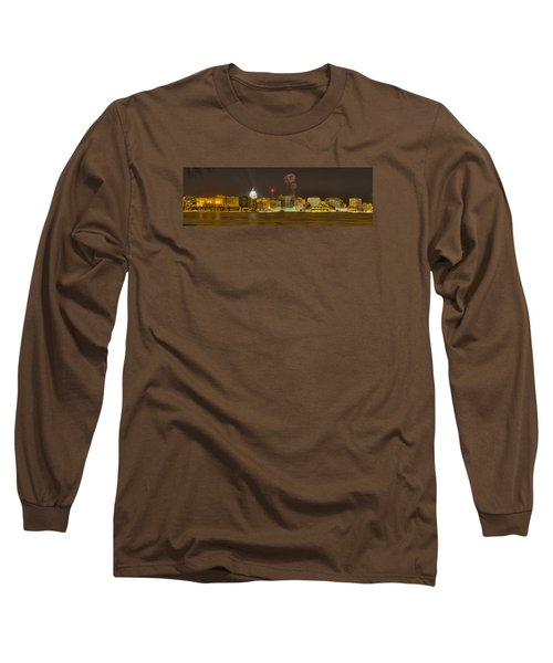 Madison New Years Eve Long Sleeve T-Shirt by Steven Ralser