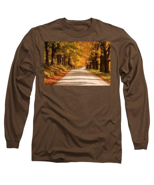 Maple Tree Canopy Long Sleeve T-Shirt