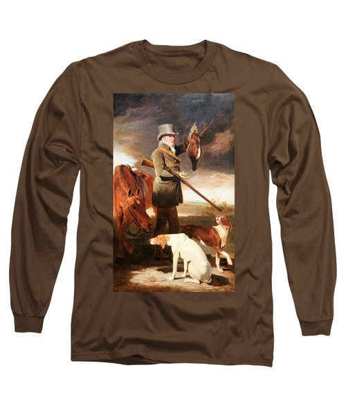 Marshall's J G Shaddick -- The Celebrated Sportsman Long Sleeve T-Shirt by Cora Wandel