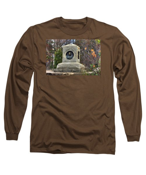 New York At Gettysburg - 140th Ny Volunteer Infantry Little Round Top Colonel Patrick O' Rorke Long Sleeve T-Shirt