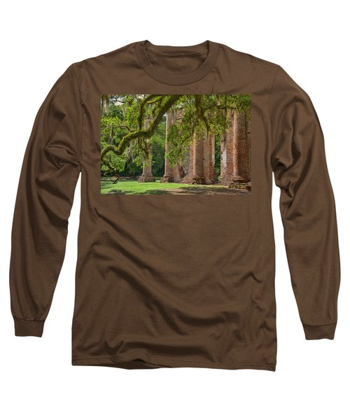 Old Sheldon Church Long Sleeve T-Shirt