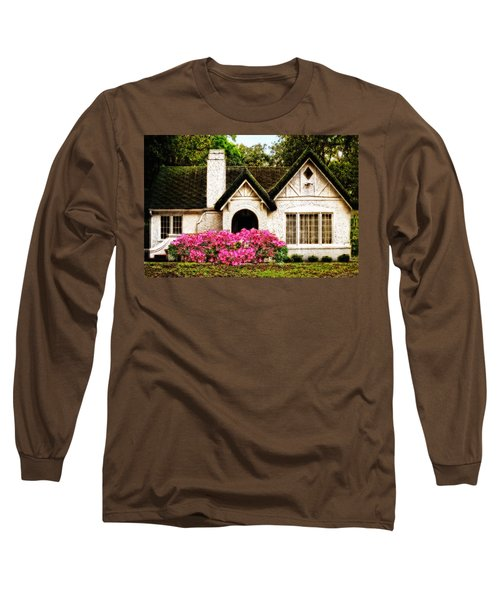 Pink Azaleas - Old Southern Charm By Sharon Cummings Long Sleeve T-Shirt