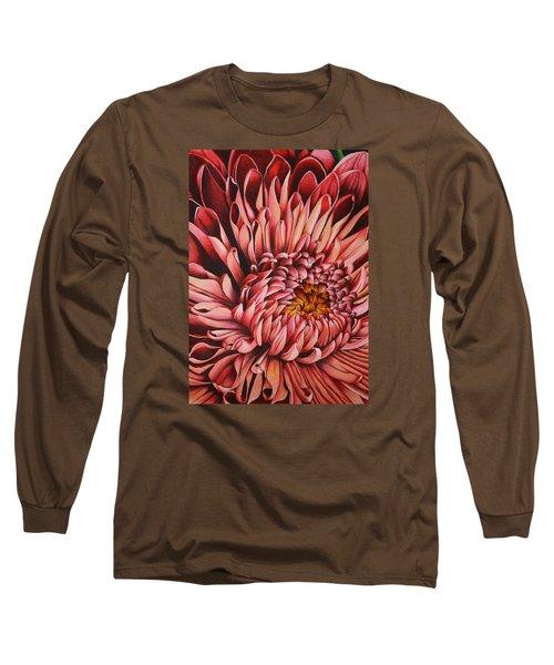 Pink Mum Long Sleeve T-Shirt by Bruce Bley
