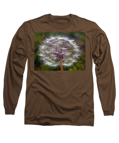 Long Sleeve T-Shirt featuring the photograph Poof by Joseph Skompski