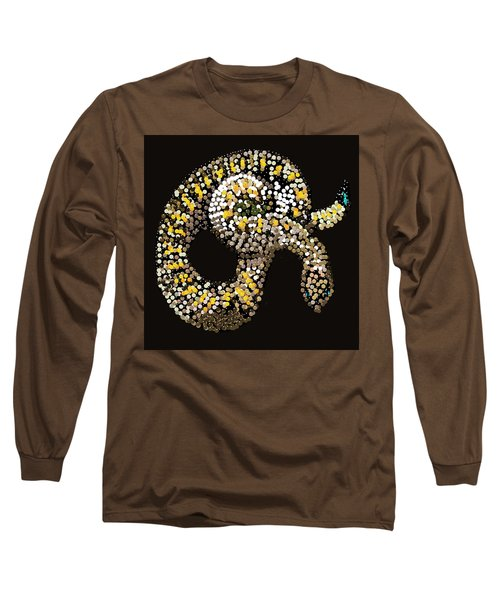 Rattlesnake Bedazzled Long Sleeve T-Shirt