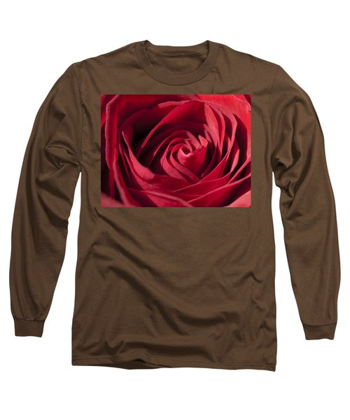 Rose Red Long Sleeve T-Shirt by Tara Lynn