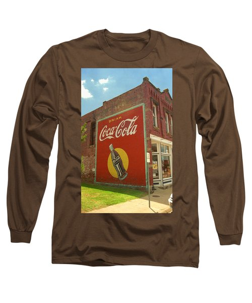 Route 66 - Coca Cola Ghost Mural Long Sleeve T-Shirt