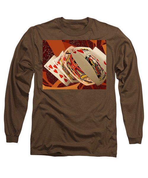 Royal Flush Long Sleeve T-Shirt