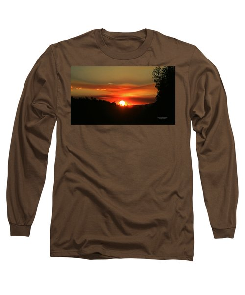 Smokin' Payson Sunset Long Sleeve T-Shirt