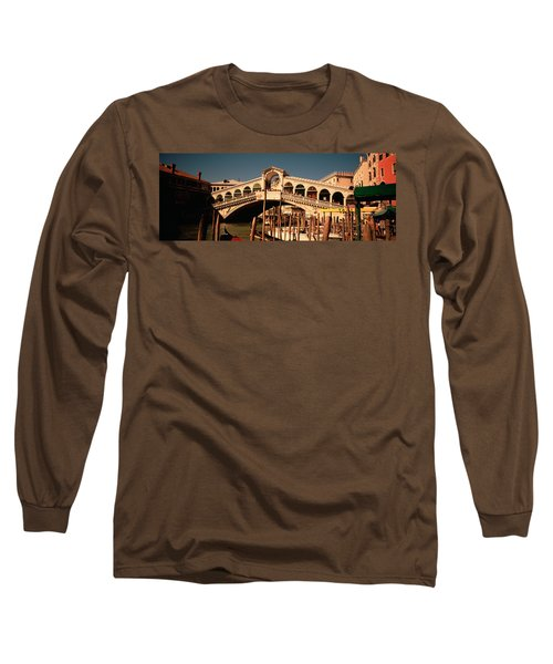 Tourists In A City, Venice, Italy Long Sleeve T-Shirt