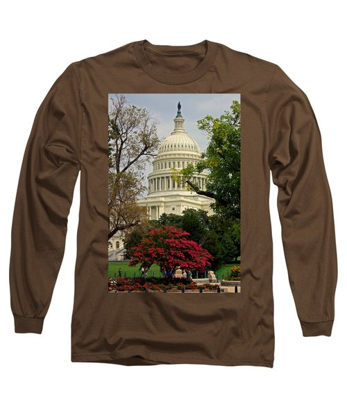 United States Capitol Long Sleeve T-Shirt