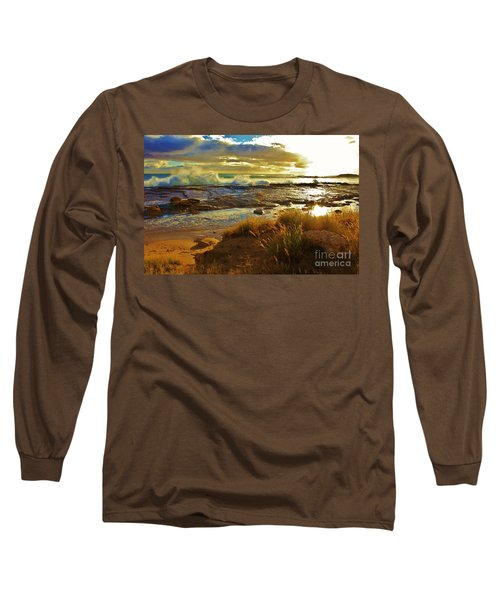 Westside Sunset Long Sleeve T-Shirt by Craig Wood