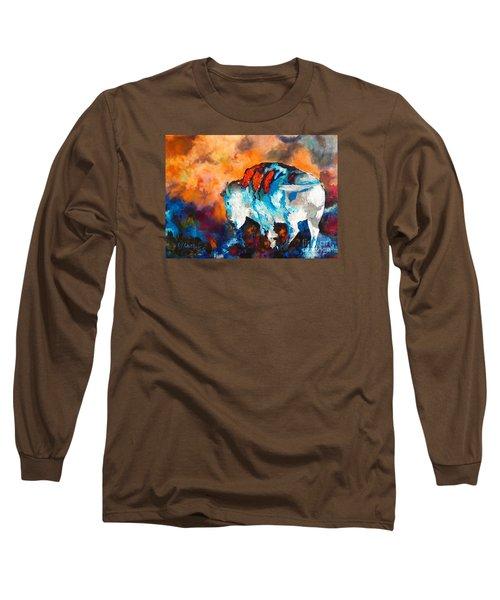 White Buffalo Ghost Long Sleeve T-Shirt
