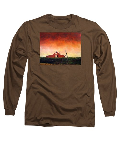 Wired Down Long Sleeve T-Shirt by William Renzulli