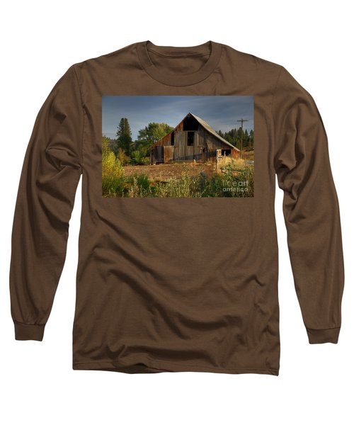 Long Sleeve T-Shirt featuring the photograph Yourn Barn by Sam Rosen