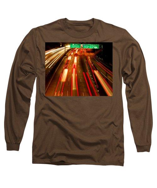 101 At Night Long Sleeve T-Shirt by Matt Harang