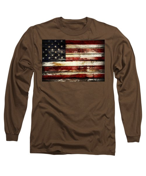 American Flag 33 Long Sleeve T-Shirt