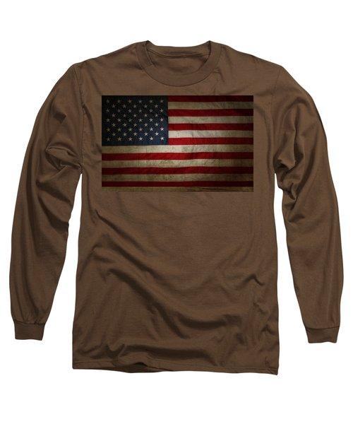 American Flag 56 Long Sleeve T-Shirt