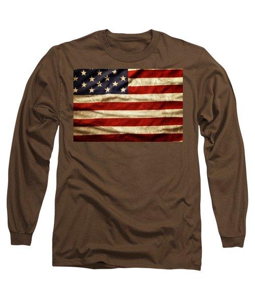American Flag 59 Long Sleeve T-Shirt