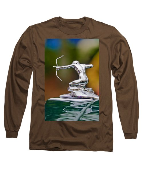 1935 Pierce-arrow 845 Coupe Hood Ornament Long Sleeve T-Shirt