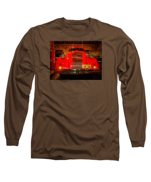 1939 World's Fair Fire Engine Long Sleeve T-Shirt