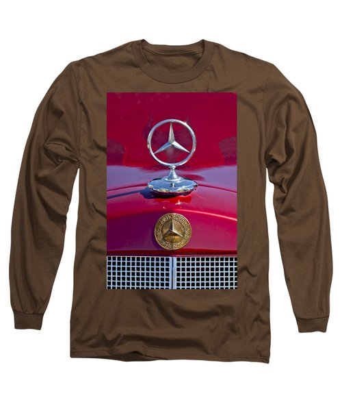 1953 Mercedes Benz Hood Ornament Long Sleeve T-Shirt