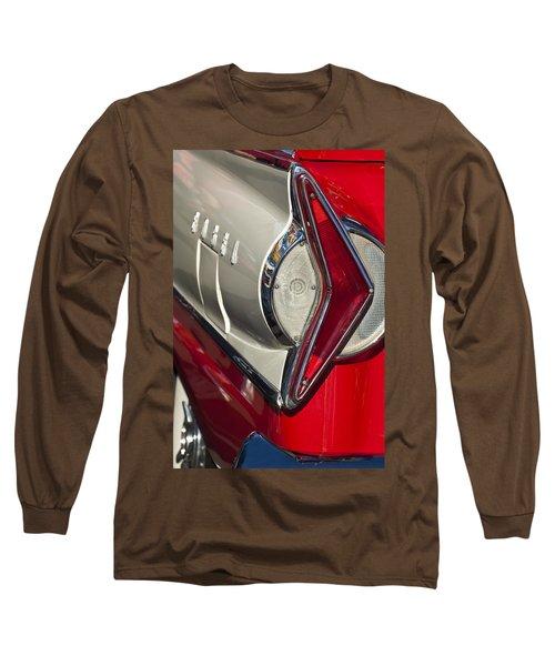 1958 Edsel Wagon Tail Light Long Sleeve T-Shirt