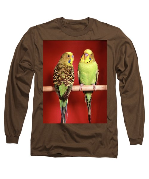 1960s Pair Of Two Yellow Green Long Sleeve T-Shirt