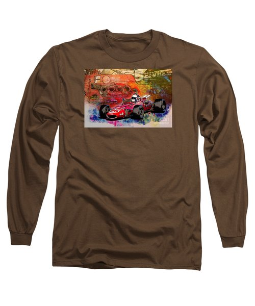 1966 9 Eagle Indy Long Sleeve T-Shirt
