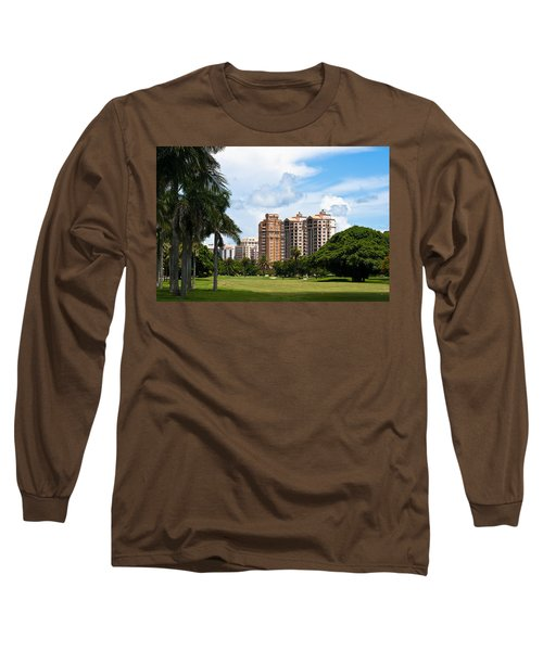 1st Hole At Granada Golf Course Long Sleeve T-Shirt
