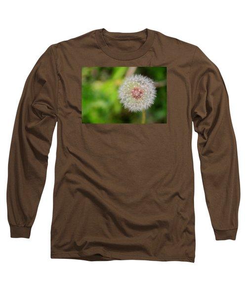 A Dandy Dandelion Long Sleeve T-Shirt