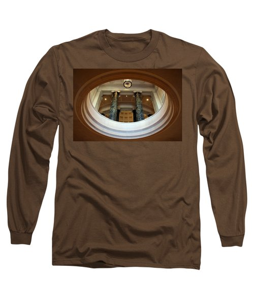 Long Sleeve T-Shirt featuring the photograph An Oculus by Cora Wandel