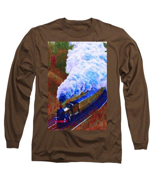 Billowing Long Sleeve T-Shirt