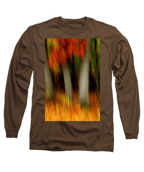 Blazing In The Woods Long Sleeve T-Shirt