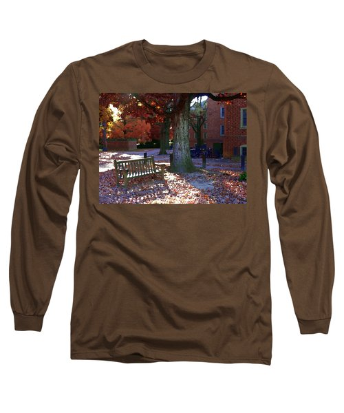 Long Sleeve T-Shirt featuring the photograph College Of William And Mary by Jacqueline M Lewis