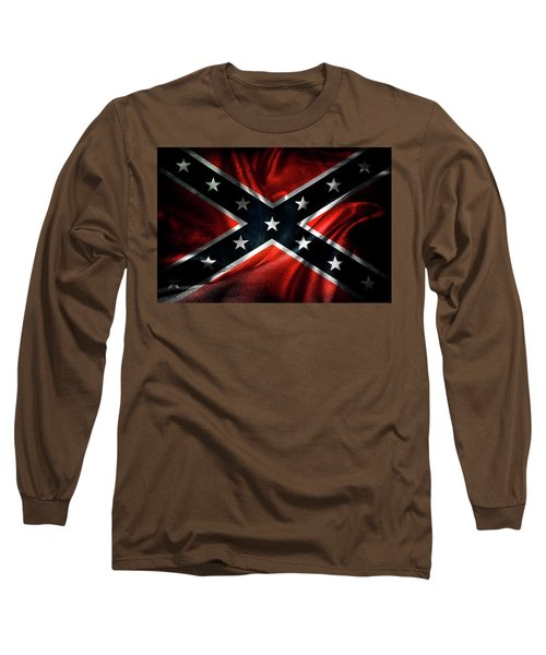Confederate Flag 1 Long Sleeve T-Shirt