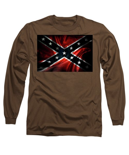 Confederate Flag 1 Long Sleeve T-Shirt